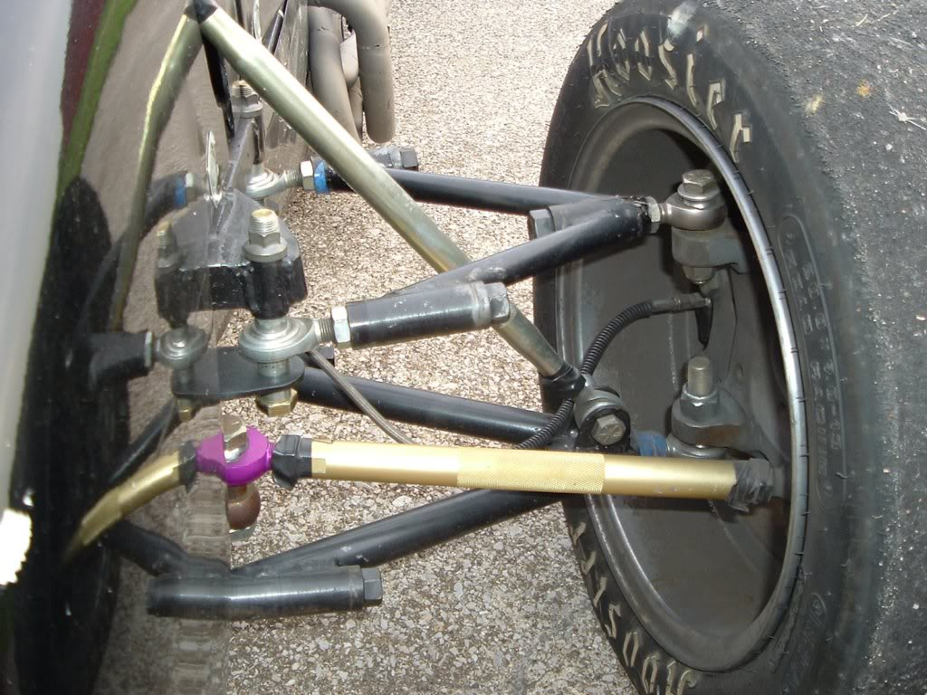 Tie Rod Conversion To Spherical Rod Ends